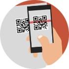 QR-коды могут распространить на посещение ресторанов и магазинов