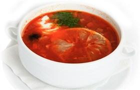 Солянка из 3 видов мяса