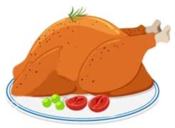 Шашлык из филе куриного с перцем